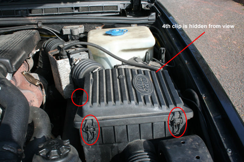 How To Change The Air Filter On A Land Rover Discovery Blogrhlandroverblogcouk: Air Filter Location At Gmaili.net