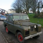 The Land Rover in truck cab form!