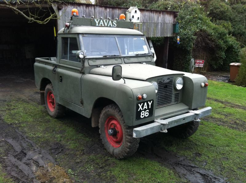 the new project 1961 land rover series 2 the land rover blog. Black Bedroom Furniture Sets. Home Design Ideas