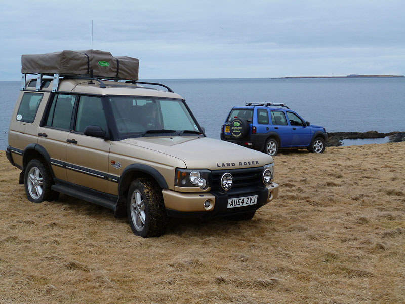 Cambridge To Stronsay By Land Rover Discovery 2 The Land