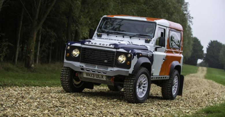 The new Land Rover Defender Challenge by Bowler
