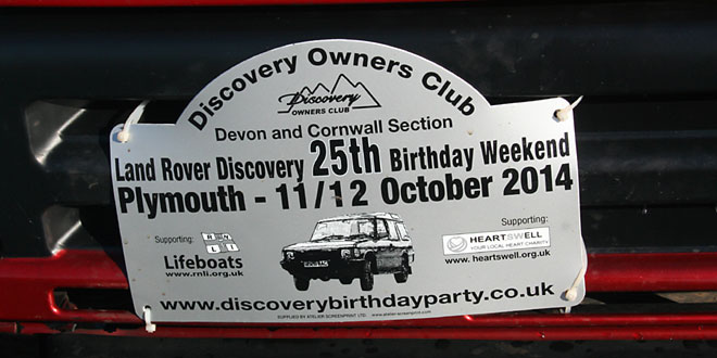 Land Rover Discovery 25th Birthday Weekend!